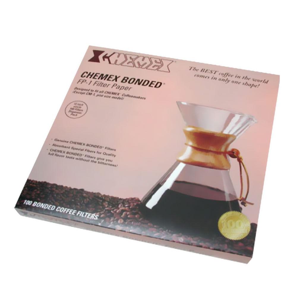 Filtro de Papel para Café Meia Lua Chemex - CH - FP2