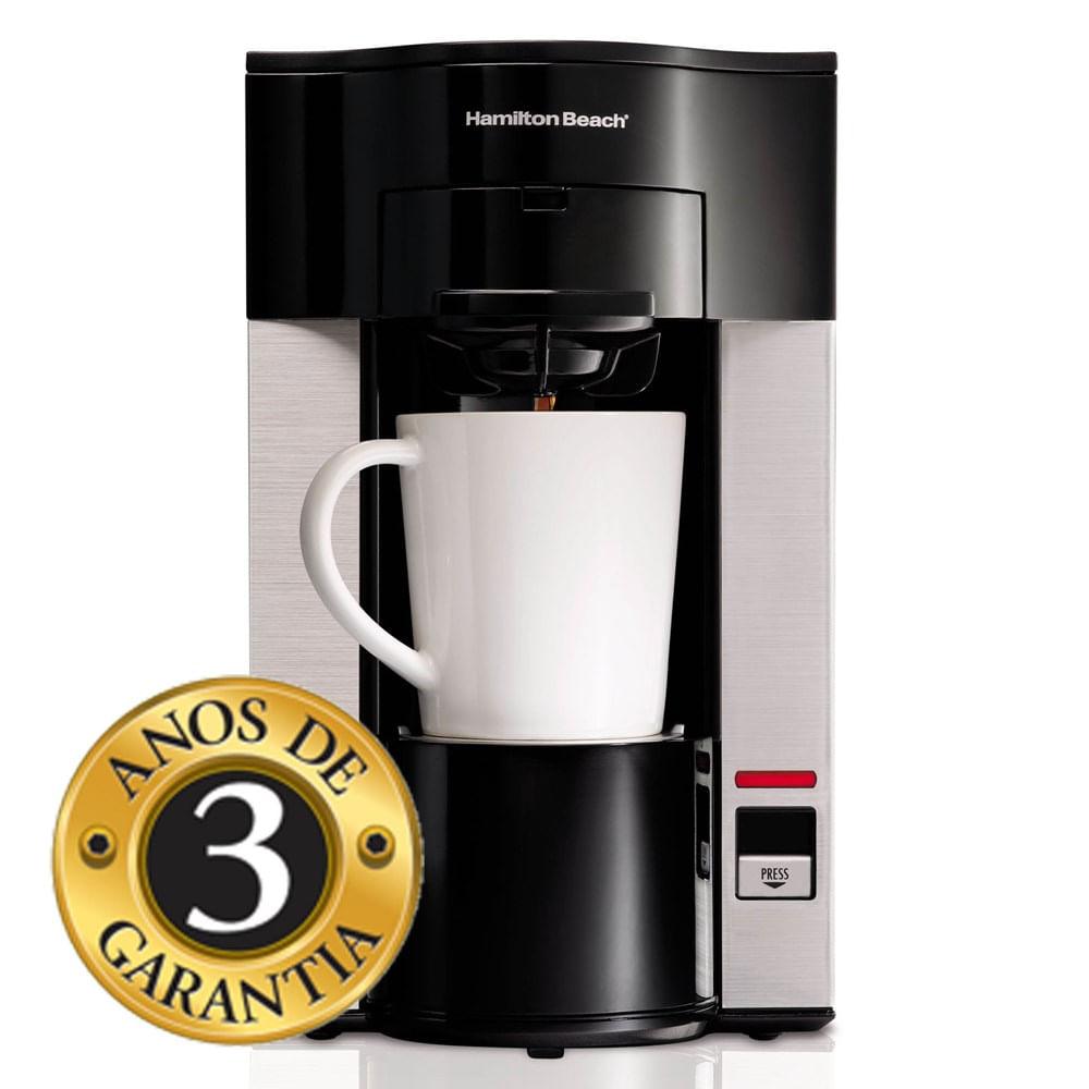 Cafeteira Elétrica Hamilton Beach Personal Cup Preto 220v - 49990bz220