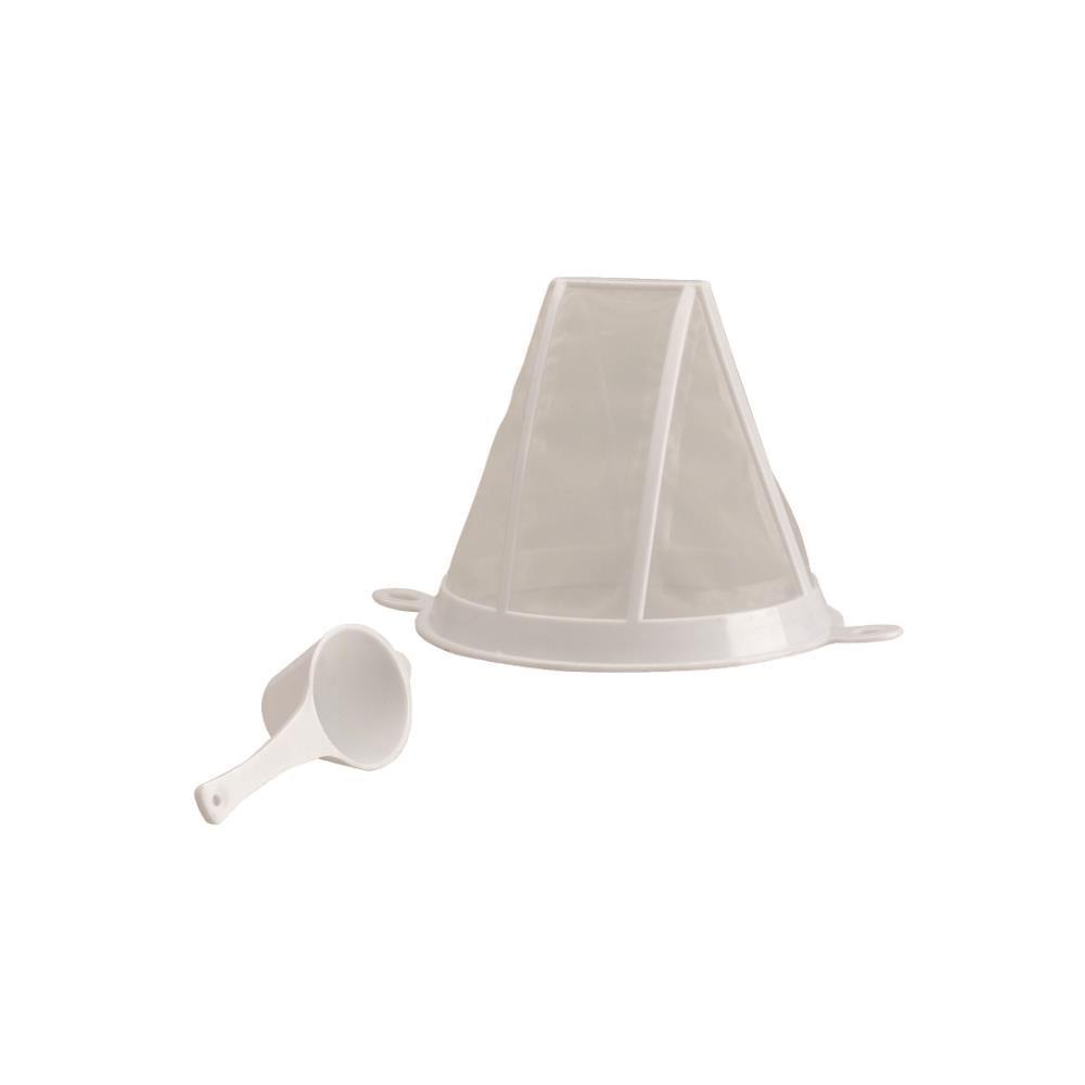 Filtro para cafe com colher medidora de plastico Ibili - 760900