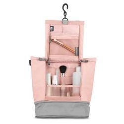 Organizador-Vanity-Grande-Cinza-Rosa-Umbra