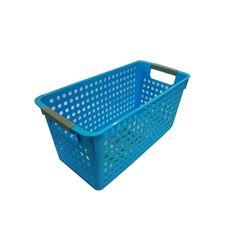 Cesta-Organizadora-Media-34x17x16cm-Basic-Kitchen-Azul