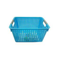 Cesta-Organizadora-Media-31x21x17cm-Basic-Kitchen-Azul