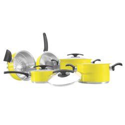 Conjunto-de-Panelas-Tramontina-Duo-Color-amarela-5-pecas-