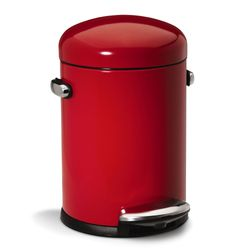 Lixeira-Retro-45L-Vermelha-Simplehuman---SH105VM