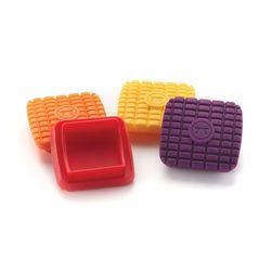 Kit-com-4-passadores-de-Manteiga-Colorido-Outset