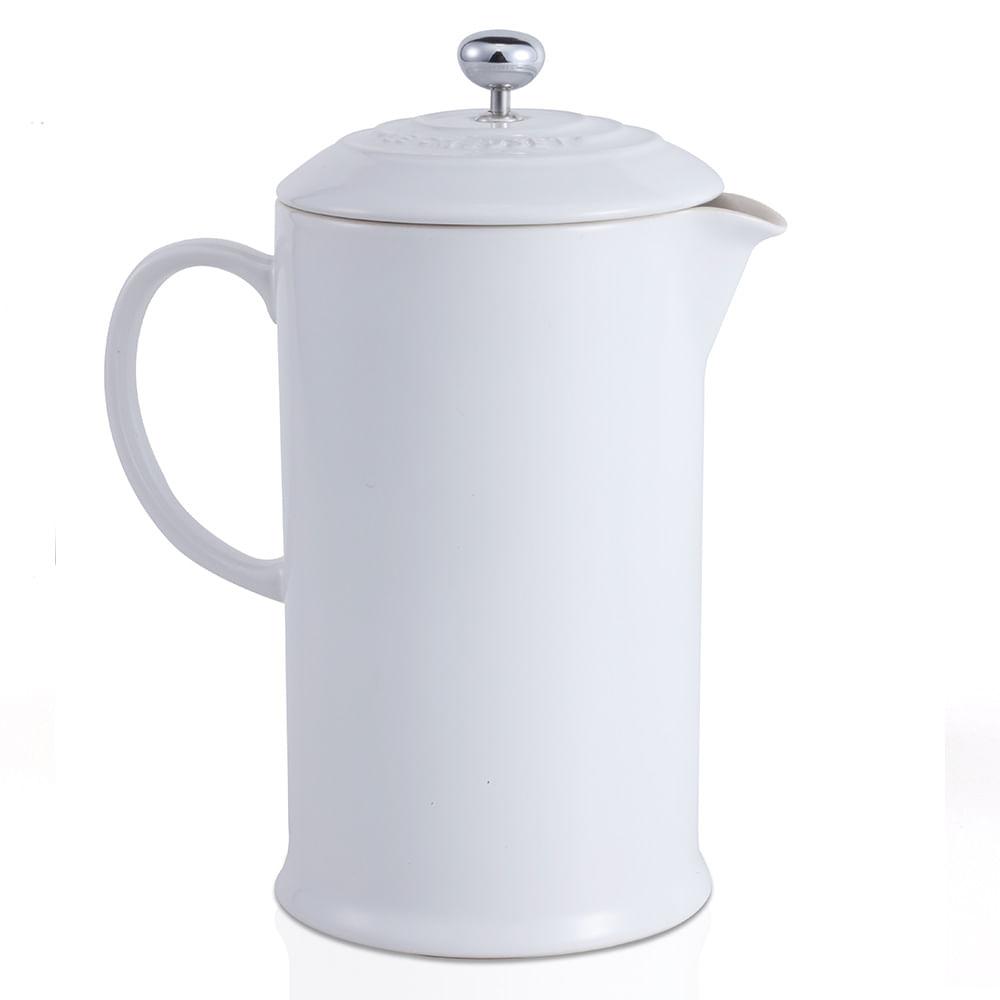 Cafeteira Francesa Le Creuset Branco
