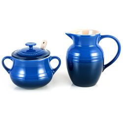 Kit-Cream-e-Sugar-Azul-Cobalto---le-Creuset