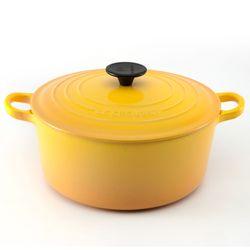 Panela-redonda-18cm-Amarela-Dijon-Le-Creuset