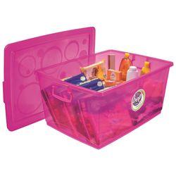 Organizador-Pink-Com-Trava-60-Litros---Ordene