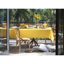 Toalha-de-Mesa-Retangular-Sempre-Limpa-Tropical-Amarela-160-x-320-m-Karsten