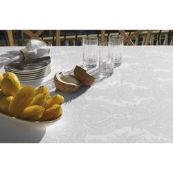 Toalha-de-Mesa-Quadrada-Sempre-Limpa-Tropical-Branca-180-x-180-m-Karsten