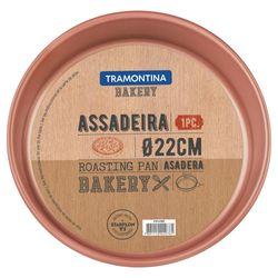 Assadeira-Redonda-Aluminio-22Cm-Bakery-Tramontina
