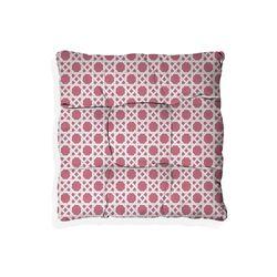 Assento-de-Cadeira-Trelica-Rosa-0.40-x-0.40-cm-Camesa