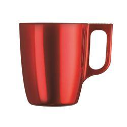 Caneca-Flahy-250Ml-Breakfast-Vermelha-Luminarc