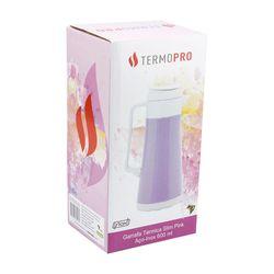 Garrafa-Termica-Inox-Slim-Pink-600ML-Termopro-Termopro