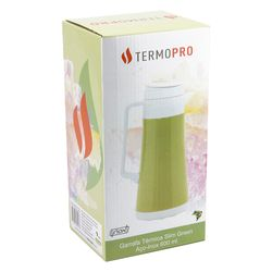 Garrafa-Termica-Inox-Slim-Green-600ML-Termopro-Termopro