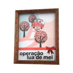 QUADRO-COFRE-OPERACAO-LUA-DE-MEL-24X30X3CM