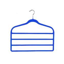 Cabide-Triplo-Plastico-A456-Azul-Basic-Kitchen
