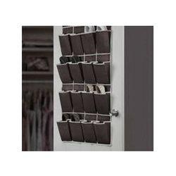 Organizador-de-Sapatos-Com-16-Divisorias-A226-Preto-marrom-Basic-Kitchen