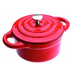 Mini-Cacarola-Redonda-10X45Cm-Vermelha-Ibili