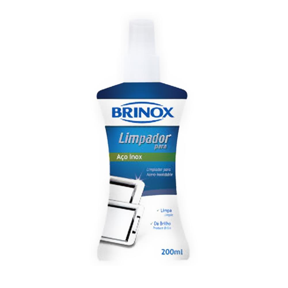 Limpador De Aço Inox 200 Ml Brinox