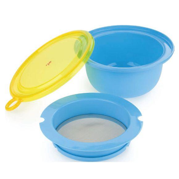 Bowl Com Peneira Em Plástico Tala - Tm15262