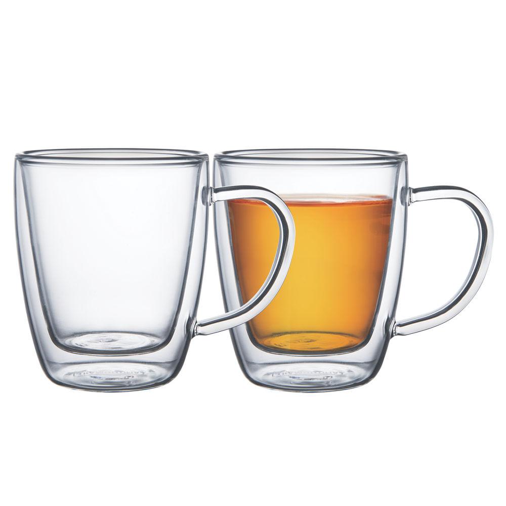 Conjunto De Xícaras Para Chá E Cappuccino 2 Peças 64760410 Tramontina