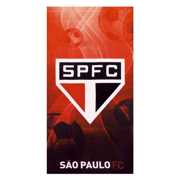 Toalha De Praia Velour Times - 0.76X1.52M Sao Paulo 02