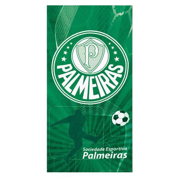 Toalha De Praia Velour Times - 0.76X1.52M Palmeiras 02