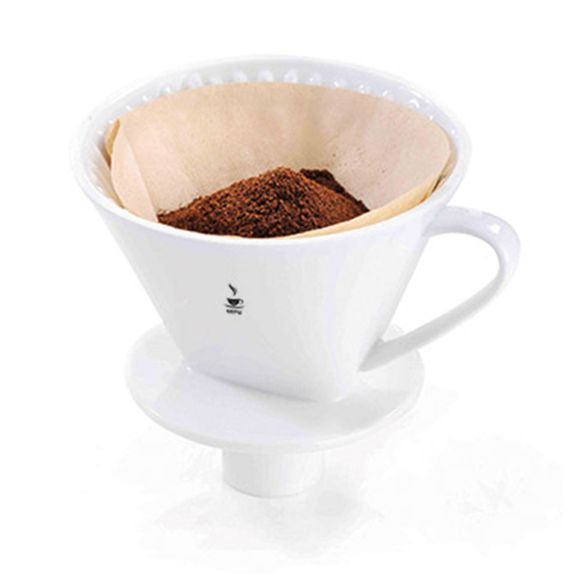 Suporte para Filtro de Café Porcelana nº4 Sandro Gefu - 16020