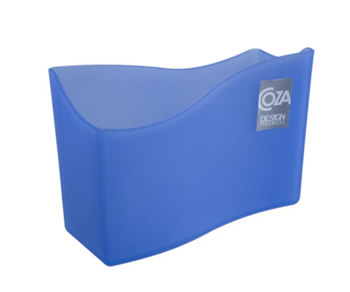 Porta-Guardanapo 13.7X6X10 Cm Azul Coza