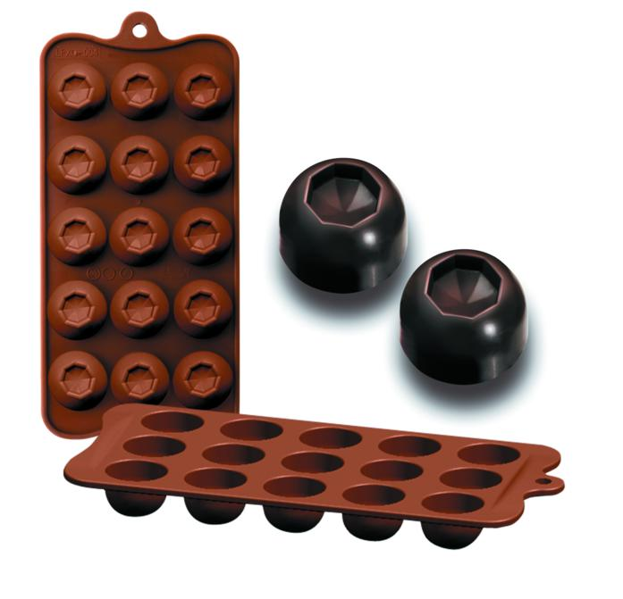 Molde Silicone Chocolates Diam 860303 Ibili