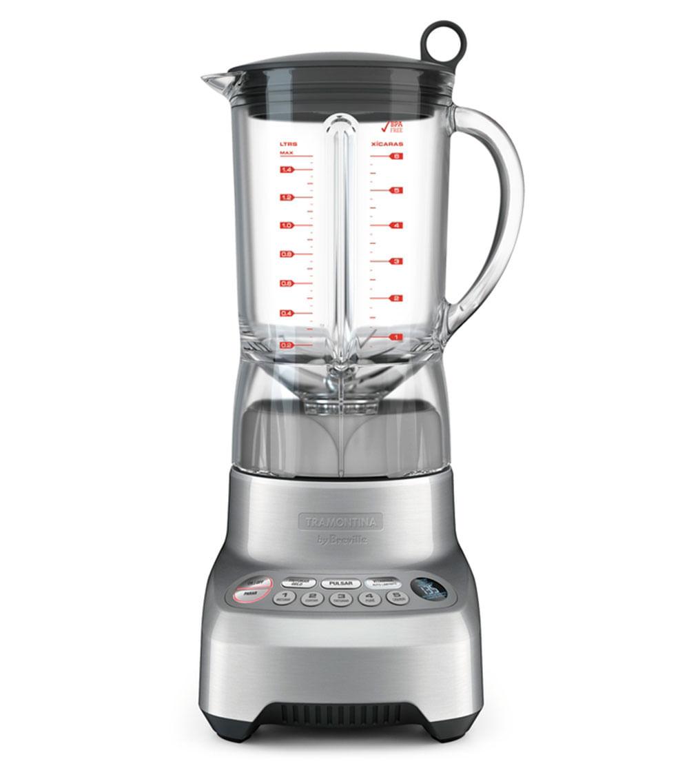 Liquidificador Smart Gourmet 127V Prata By Breville 69005011 Tramontina