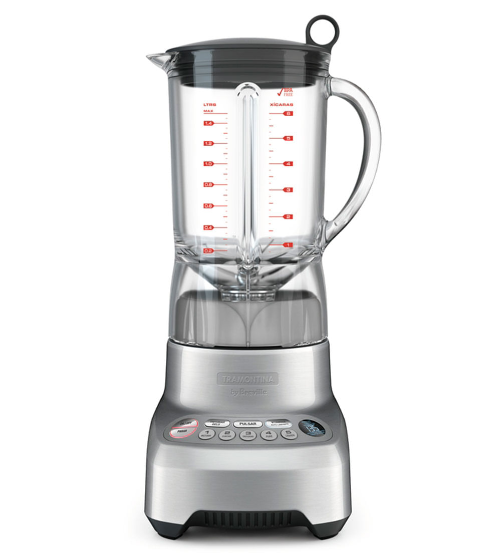 Liquidificador Smart Gourmet 220V Prata 69005012 Tramontina