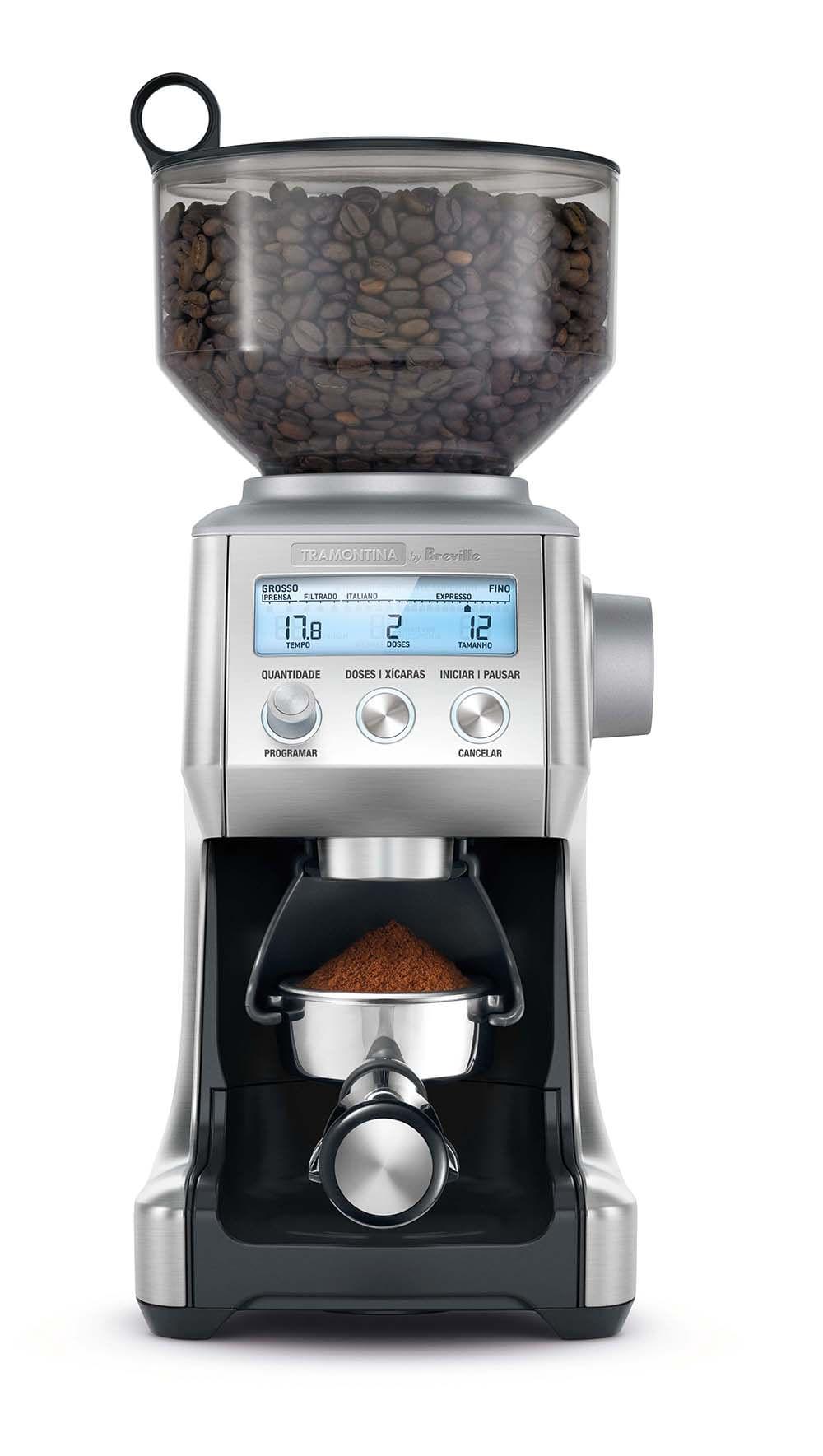 Moedor de Café Express 220v Aço Inox