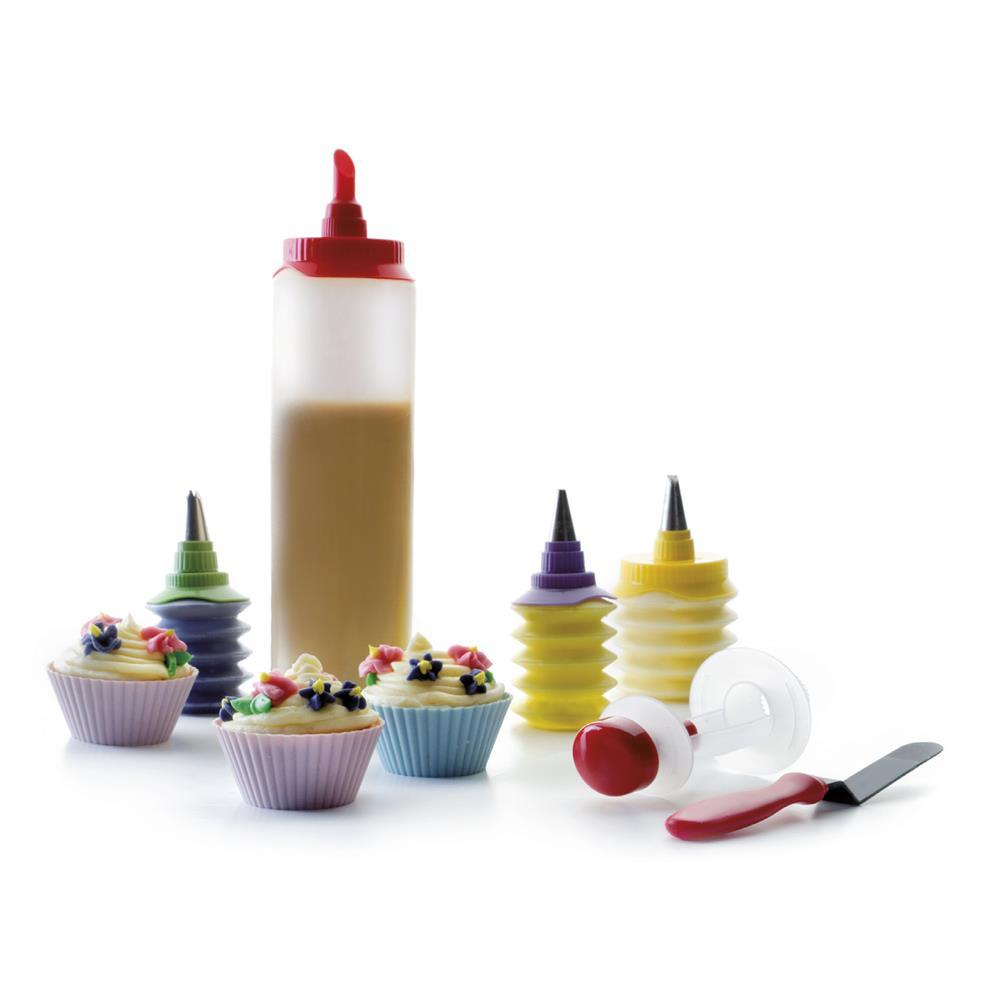 Conjunto Para Fazer Cupcakes Com 15 Peças Ibili