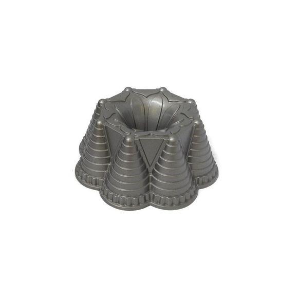 Forma-De-Bolo-Aluminio-Fundido-Namorata-60510-21X8-Cm-Basic-Kitchen