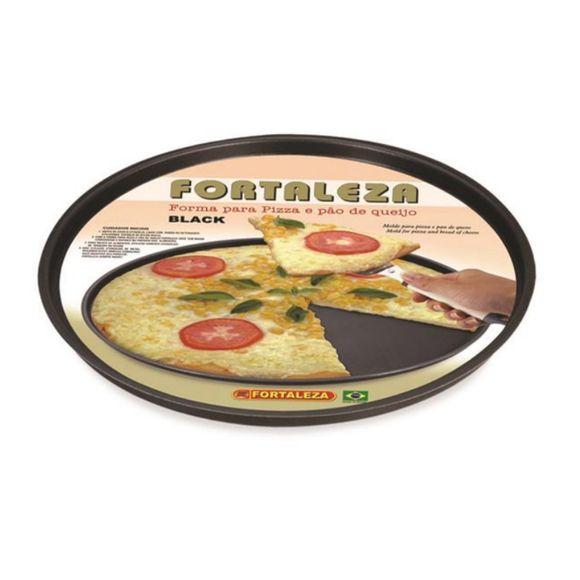 Forma-Para-Pizza-35Cm-Black-Aluminio-Fortaleza