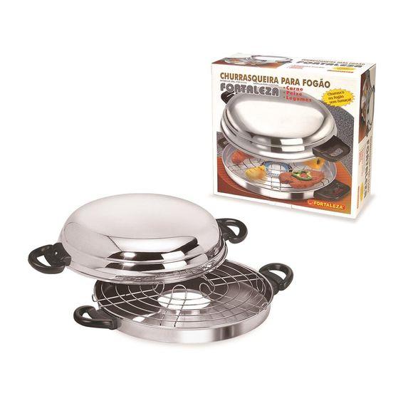 Churrasqueira-30Cm-Polida-Com-Caixa-Aluminio-Fortaleza