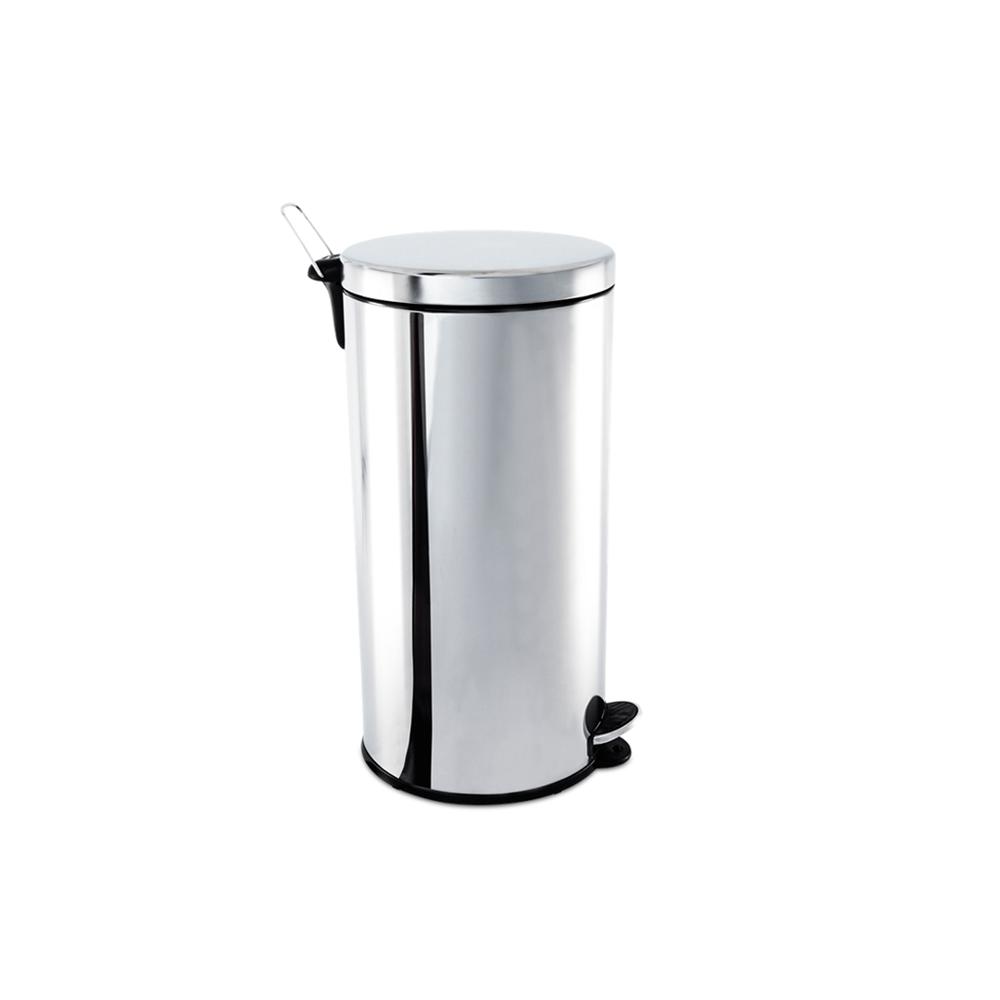 Lixeira Inox Com Pedal 30L Decor Line Brinox