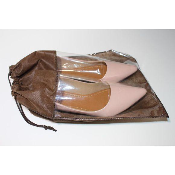 Porta-Sapato-TNT-com-3-unidades-Marrom-Idealiza