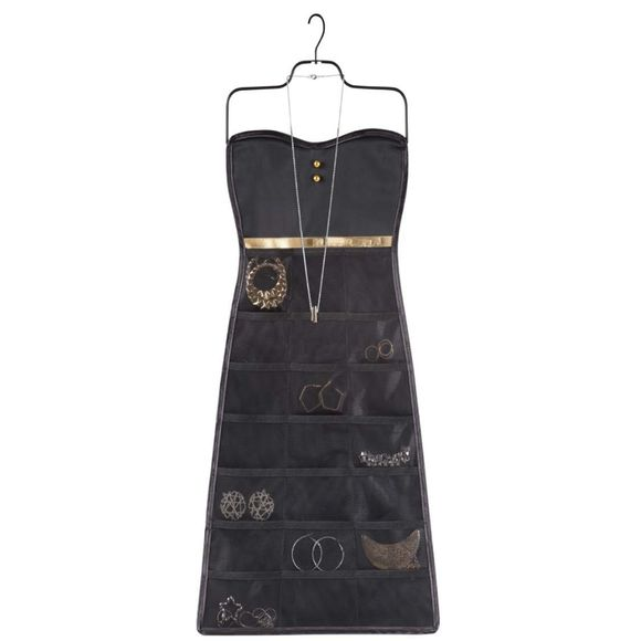 Porta-Bijoux-Bow-Dress-Preto-Umbra