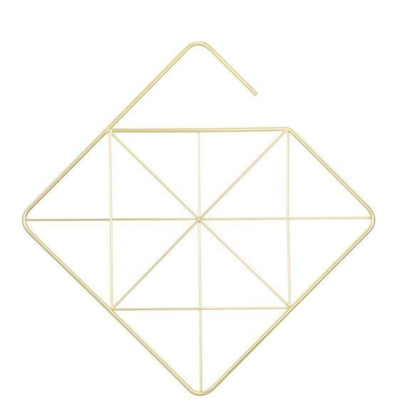 Porta-Cachecol-Quadrado-Dourado-Umbra