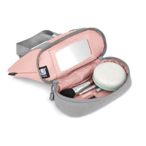 Organizador-Vanity-Pequeno-Cinza-Rosa-Umbra