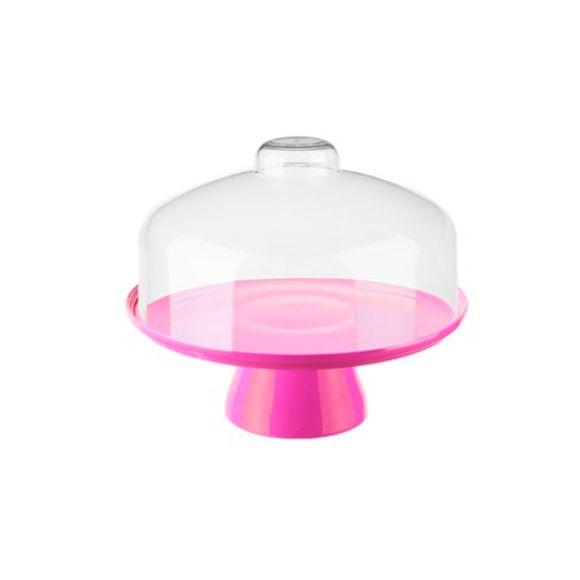 Boleira-Cake-Com-Cupula-32Cm-Rosa-Coza