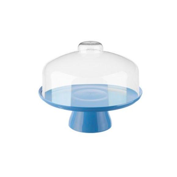 Boleira-Cake-Com-Cupula-32Cm-Azul-Coza