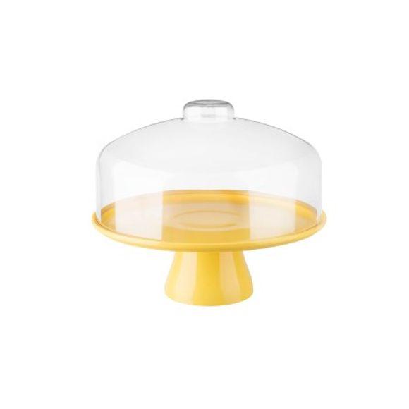 Boleira-Cake-Com-Cupula-32Cm-Amarelo-Coza