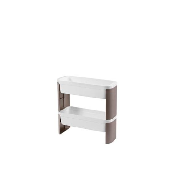 Organizador-Slim-2-Andares-Loft-Concreto-Coza