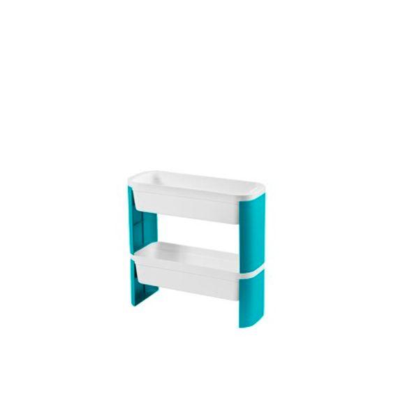 Organizador-Slim-2-Andares-Loft-Verde-Coza