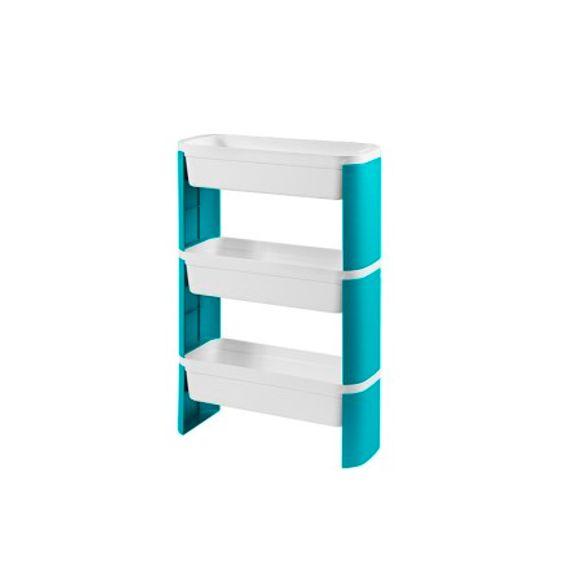 Organizador-Slim-3-Andares-Loft-Verde-Coza
